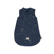 Nobodinoz  υπνόσακος Cocoon - gold stella/ midnight blue NB109695