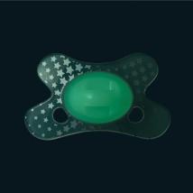 Πιπίλα Difrax Natural Glow in the Dark - GL123 0-6 μηνών