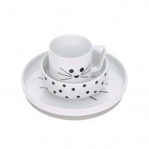 Lassig σετ φαγητού από πορσελάνη - Little Chums Cat 1210037108