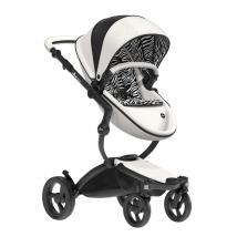 Mima Xari παιδικό καρότσι Limited Edition - New York Zebra w/Black Chassis