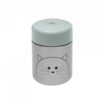 Lassig μεταλλικό βάζο φαγητού 315ml - Little Chums Cat 1310024108