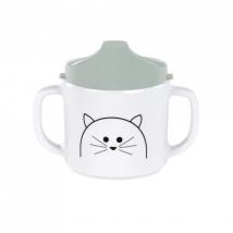 Lassig ποτηράκι με διπλό χερούλι - Little Chums Cat