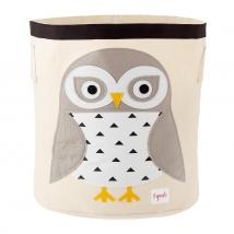 3 sprouts καλάθι για τα παιχνίδια - Snowy Owl