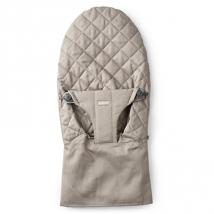 BabyBjörn ανταλλακτικό ύφασμα ρηλάξ - Sand grey cotton, 012017