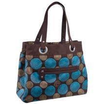 Lassig Tote τσάντα αλλαγής - Choco