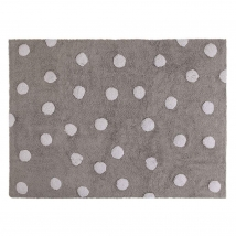 Lorena Canals παιδικό χαλί Dots - Topos gris C-00005