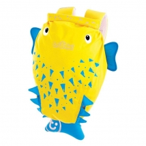 Trunki PADDLEPAK αδιάβροχο παιδικό  σακίδιο - Blow fish