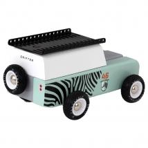Candylab Drifter ξύλινο τζιπ Zebra - CL008669