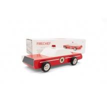 Candylab Americana ξύλινο αυτοκίνητο πυροσβεστικής - Fire Chief CL800058
