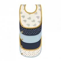 Lassig σαλιάρες σετ 5 τμχ. Little Water - Whale 1311002452