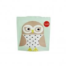 3 Sprouts θήκες για σάντουιτς - Owl