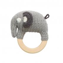 Sebra crochet κουδουνίστρα AW20-21 - Fanto the elephant 300930043(NEW!)