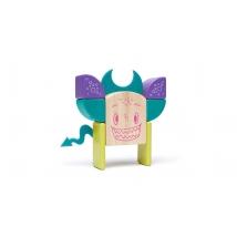 Tegu Sticky Monsters ξύλινα μαγνητικά τουβλάκια - Pip