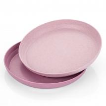 Reer set πιατάκια - Pink/Rose  22074