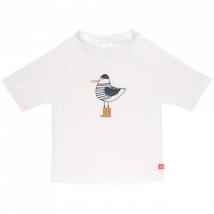 Lassig UV T-shirt μπλουζάκι θαλάσσης - Mr.Seagull White 1431020122