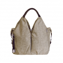 Lassig Green Label Neckline τσάντα αλλαγής Melange - Choco Melange _ LNB606