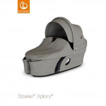 Stokke Xplory V6 πορτ μπεμπέ - Brushed Grey