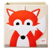 3 sprouts τετράγωνο καλάθι για τα παιχνίδια - Fox