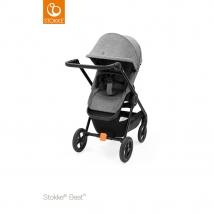 Stokke® Beat™ παιδικό καρότσι - Black melange