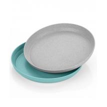 Reer set πιατάκια - Blue/Grey 22033