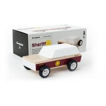 Candylab ξύλινο αστυνομικό τζιπ - Lone Sheriff CL008607