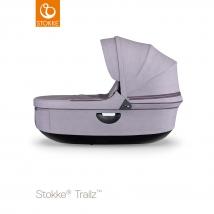 Stokke® Stroller Black πορτ μπεμπέ - Brushed Lilac