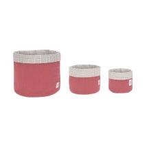 Lassig καλάθια αποθήκευσης σετ των 3 - 1541007611 Rosewood