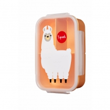 3 sprouts τάπερ Lunch Bento Box - Llama