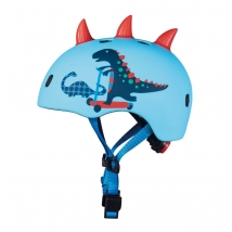 MICRO παιδικό κράνος - Scootersaurus 3D (giftbox)