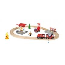 Brio παιδικό τρενάκι Set πυροσβεστική - 33815