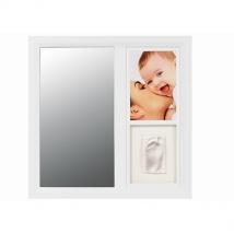 BabyArt καθρέπτης με φωτογραφία και αποτύπωμα - white/black 34120083