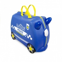 Trunki  παιδική βαλίτσα ταξιδιού - Percy the police car 0323