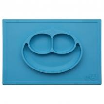 Ezpz εκπαιδευτικό πιάτο Happy Mat - Blue