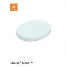 Stokke Sleepi Mini κατωσέντονο με λάστιχο 2020 - Powder blue
