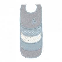 Lassig σαλιάρες σετ 5 τμχ - Lela Light blue 1311002483