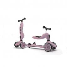 Scoot & Ride Highwaykick 1 παιδικό όχημα 3 σε 1 - Rose