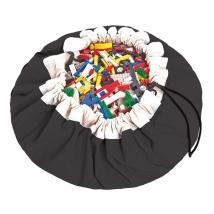 Play & Go στρώμα παιχνιδιού και τσάντα 2 σε 1 μονόχρωμο - Black PG400067