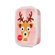 3 sprouts τάπερ Lunch Bento Box - Deer