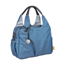 Lassig Green Label Global bag - Ecoya blue