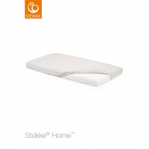 Stokke Home κατωσέντονο - white/beige checks 2pcs