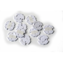 Reer προστατευτικό πρίζας αυτοκόλλητο 10τμχ (3246.010)