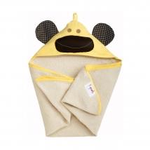 3 sprouts πετσέτα με κουκούλα - Yellow Monkey