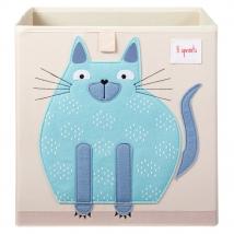 3 sprouts τετράγωνο καλάθι για τα παιχνίδια - Cat