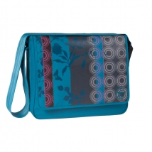 Lassig Messenger τσάντα αλλαγής - Colorpatch petrol 1272731