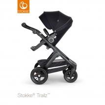 Stokke Trailz Black παιδικό καρότσι με τροχούς παντός εδάφους - Black