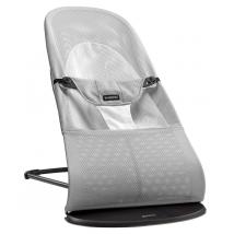 BabyBjörn ρηλάξ Balance Soft, Mesh - Silver/White, Mesh 005029