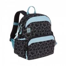 Lassig medium backpack τσάντα πλάτης Spooky - Black 1203002015