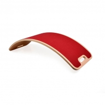 Curvelab σανίδα ισορροπίας με τσόχα - Bordeaux Red