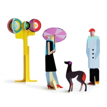 Studioroof Boulevard 3D φιγούρες