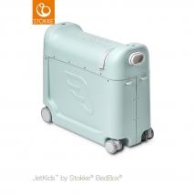 JetKids™ BedBox® by Stokke βαλιτσάκι-κρεβατάκι ταξιδιού - Green Aurora (New)
